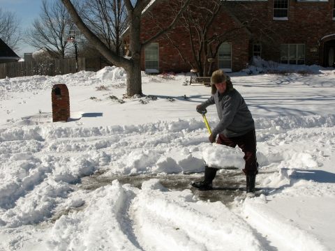 Are You Putting Your Heart at Risk by Shoveling Snow Picture