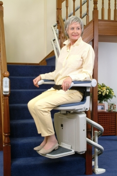 Make Life Easier for Your Aging Parents with a Home Stair Lift Picture